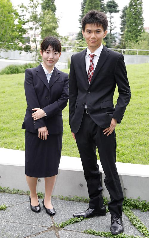 大学 入学 式 スーツ